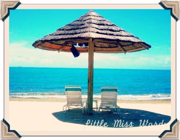 Beach Umbrella, Puerto Rico, Travel