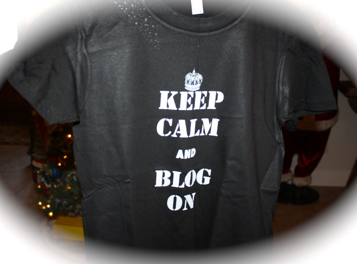 Keep Calm and Blog On!