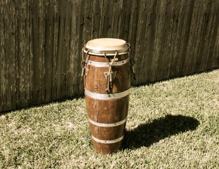 Dad's Ricky Ricardo Drum