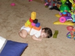 Now this required some serious strategy. Strategizing wiped this kid out. Bonus!  (blu.stb.s-msn.com)