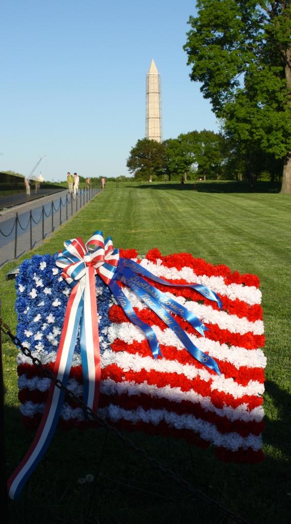 Veteran's Memorial and Washington Monument