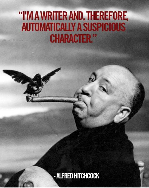 Writers Are Suspicious