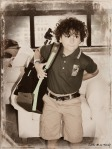 1st Day of School Evan
