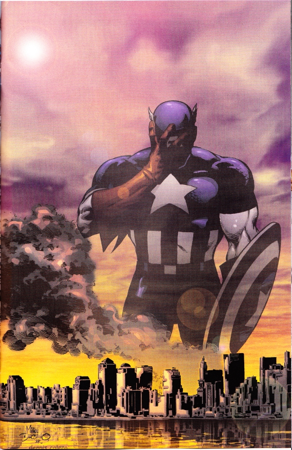 September 11 Captain America
