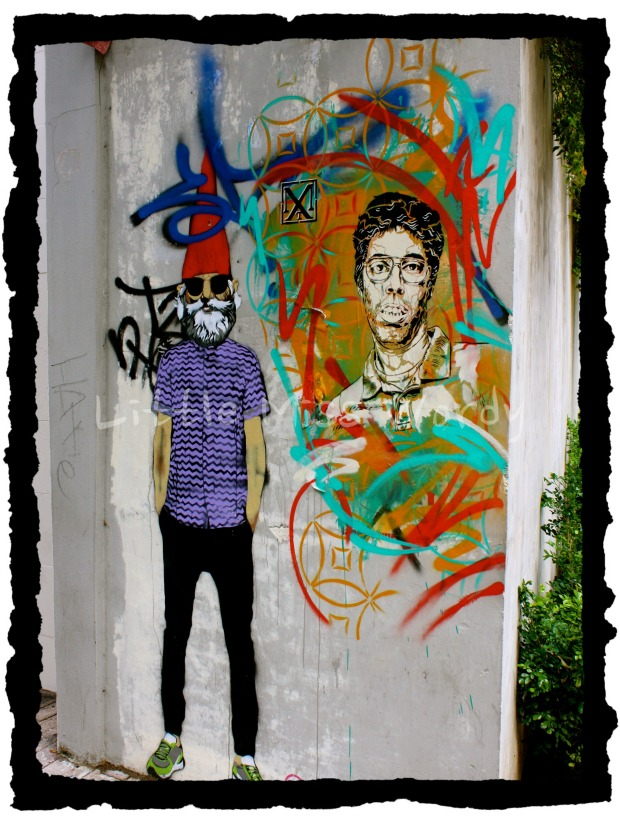 Gotta Be The Shoes, Street Art, San Juan Art, Puerto Rico