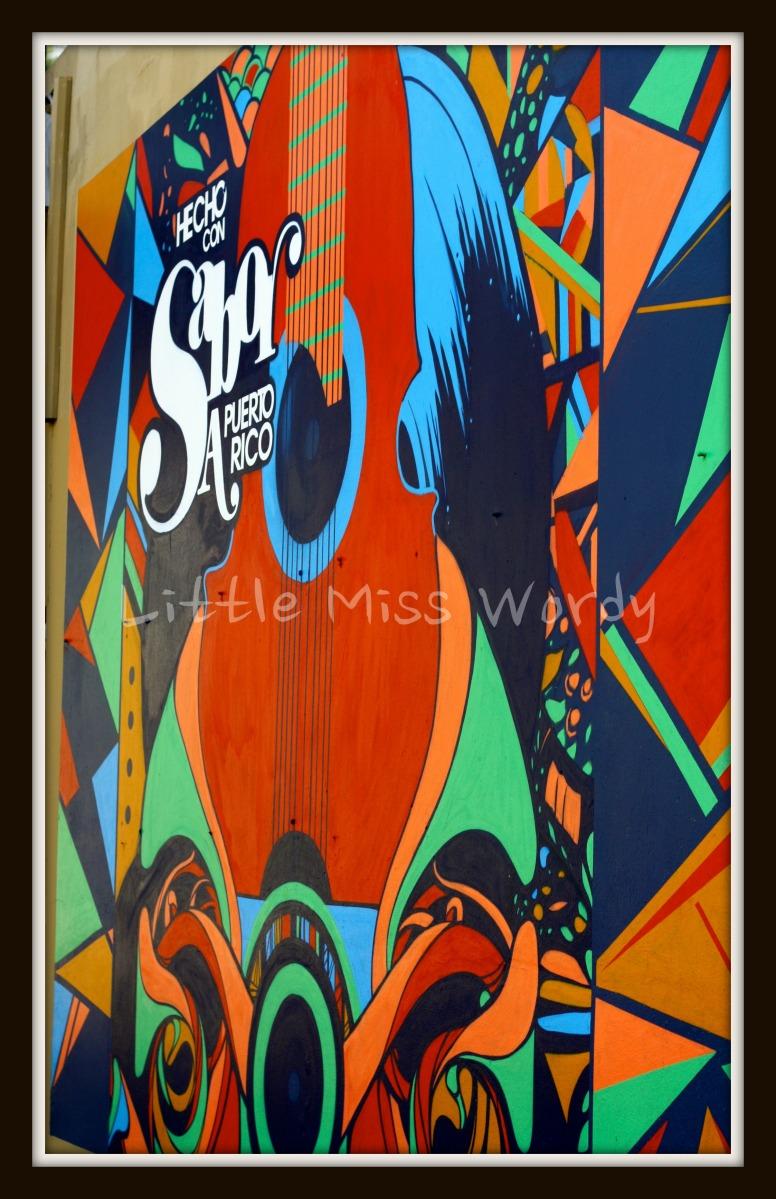 Sabor Puerto Rico, Street Art, Made with Puerto Rican Flavor. Puerto Rico