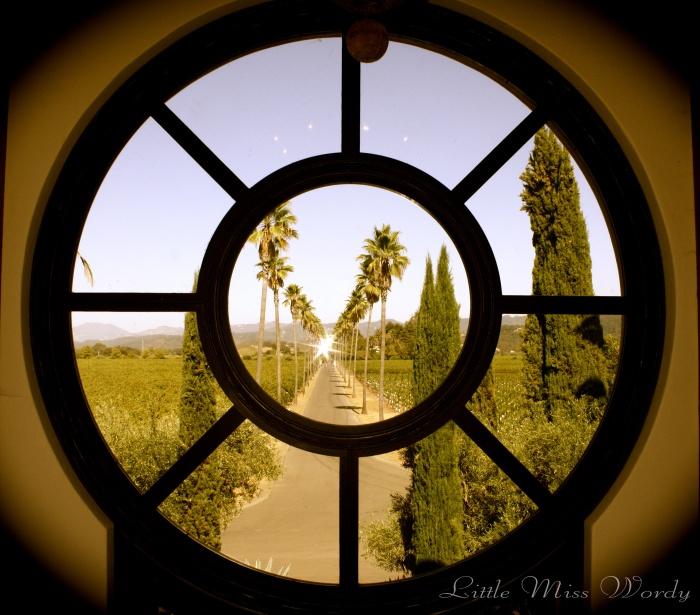 Circular Window, Landscaping