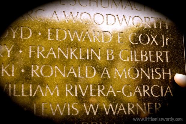 Freedom isn't free, Memorial Day, Veteran's Memorial, Washington DC