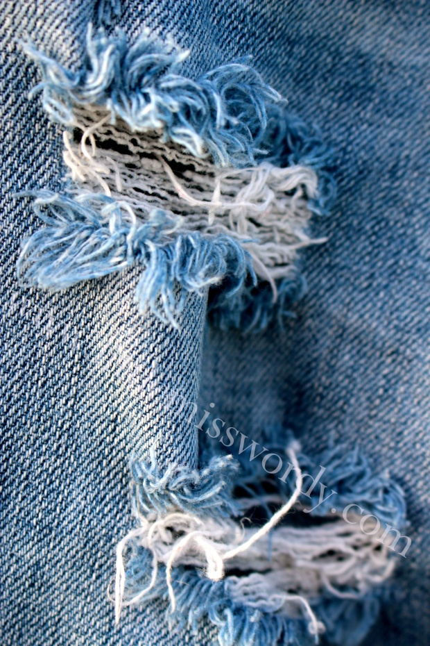 Well-Worn Jeans, Favorite Jeans, ,Blue Denim