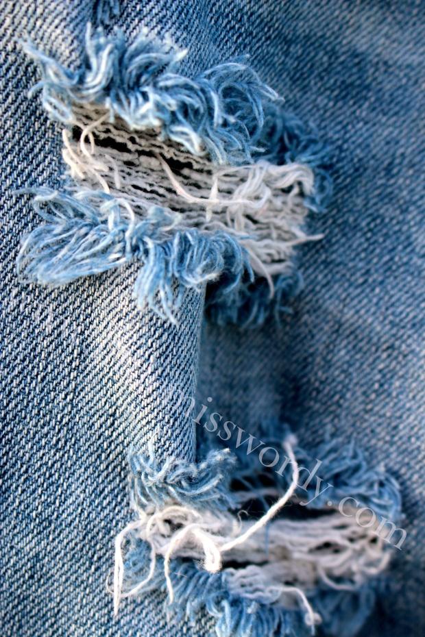 Well-Worn Jeans, Favorite Jeans, ,Blue Denim