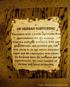 Renaissance, Torture Chamber, Human Suffering