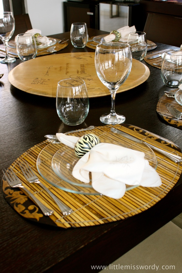 Thanksgiving, Place Setting, Thanksgiving Table