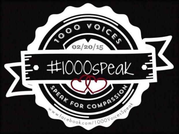 1000 Speak, Compassion