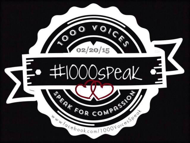 1000 Speak, Compassion