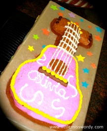 Rock Star Cake, Music Cake