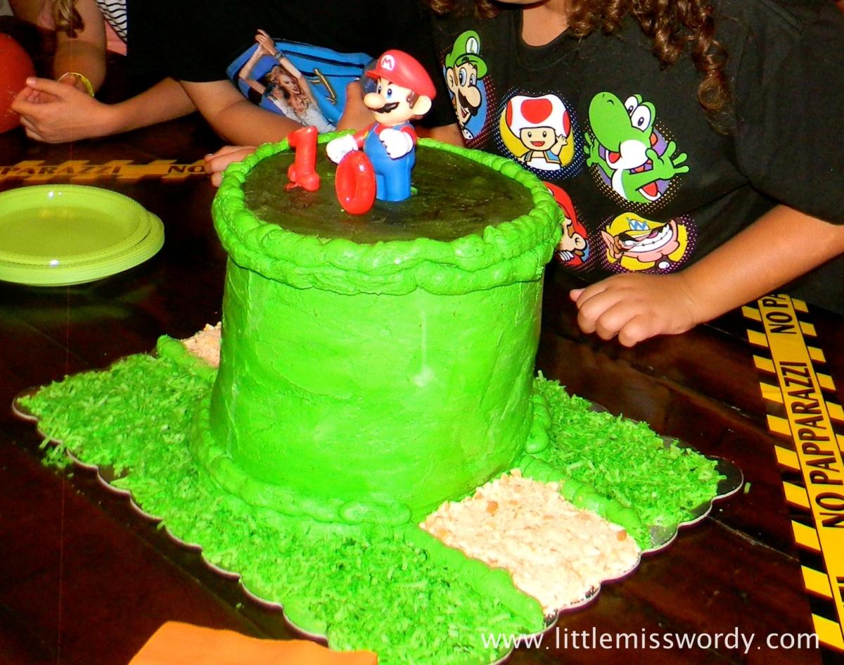 Mario Brother Cake, Nintendo Cake