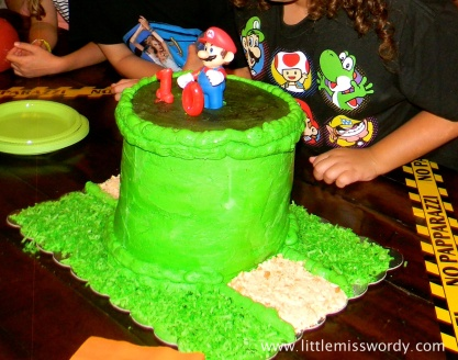 Mario Brother Cake, Nintendo Cake
