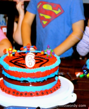 Spiderman Cake, Super Hero Birthday