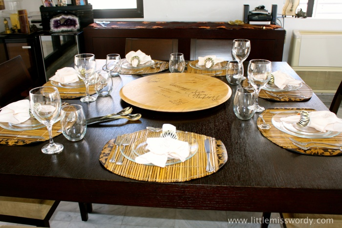 Place Setting, Holiday Table, Dinner Party