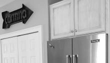 fully stocked fridge, viking refrigerator, cantina